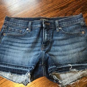Cutoff jean shorts Banana Republic